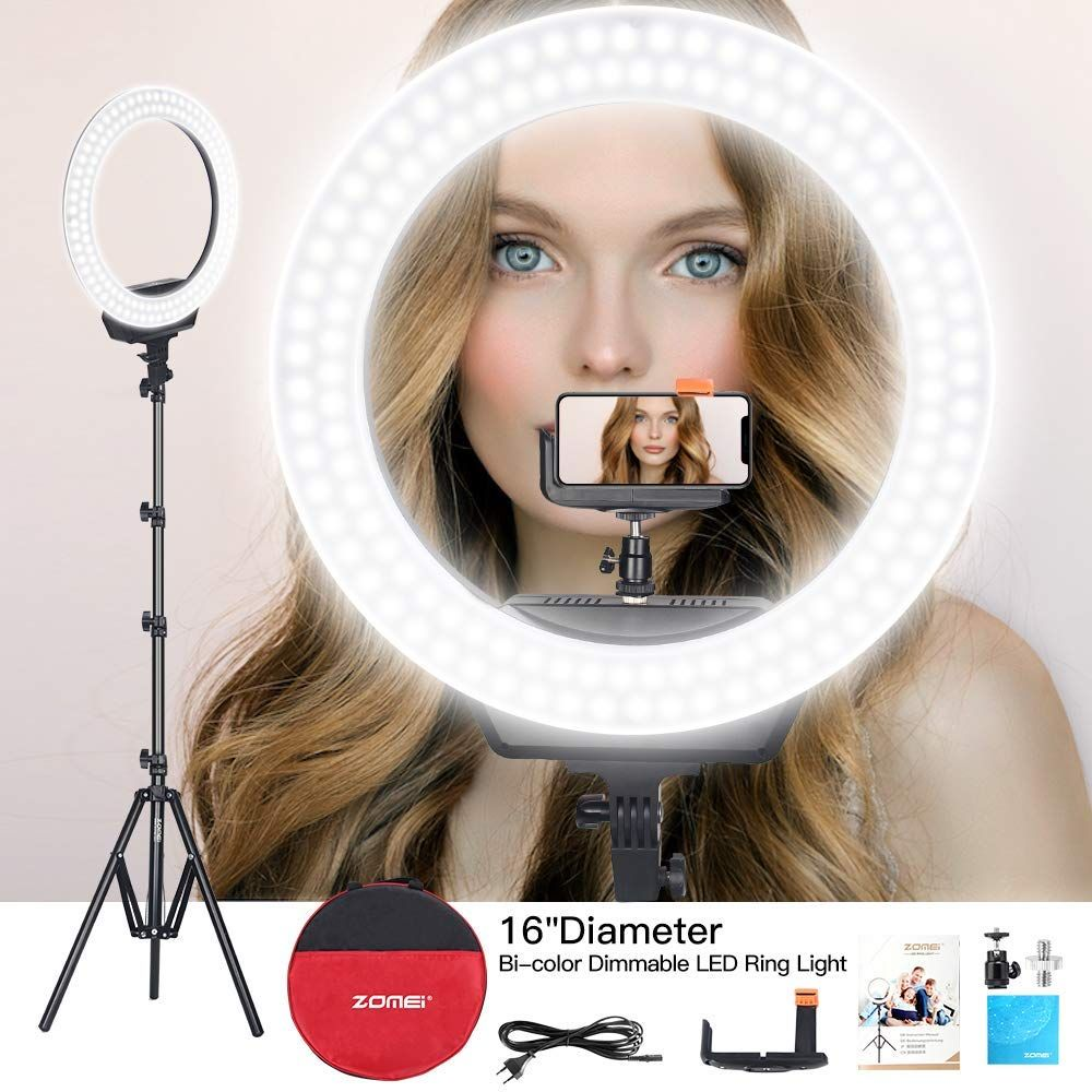 Zomei 16 Inch Led Ring Light Led Ring Light Selfie Ring Light Led Ring