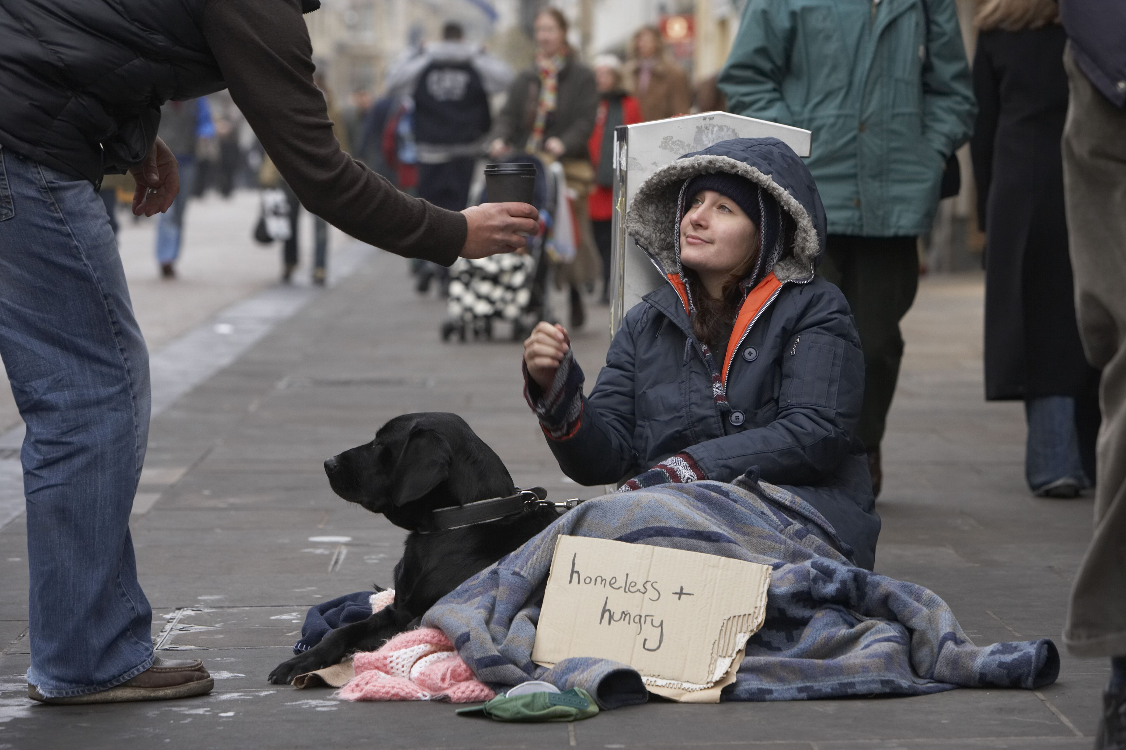 homeless people more likely to become A fifth of all homeless people have committed a crime to get off the streets.