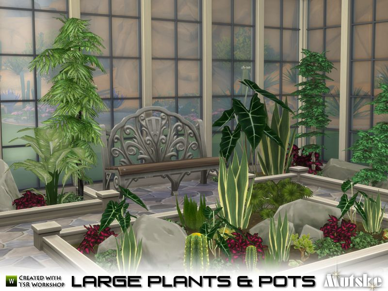 Ever Wanted An Indoor Garden For Your Sims Now You Can Create One You Can Also Use The Plants In A Variety Of Pottery With Large Plants Plants Small Plants