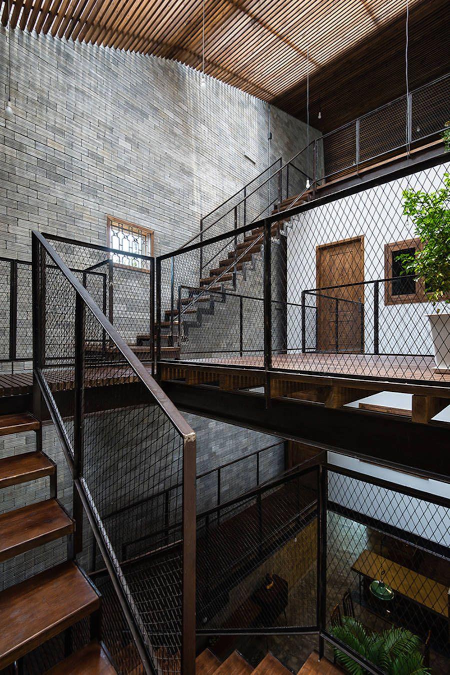 Zen House In Vietnam Escaliers Interieur Maison Et Maison