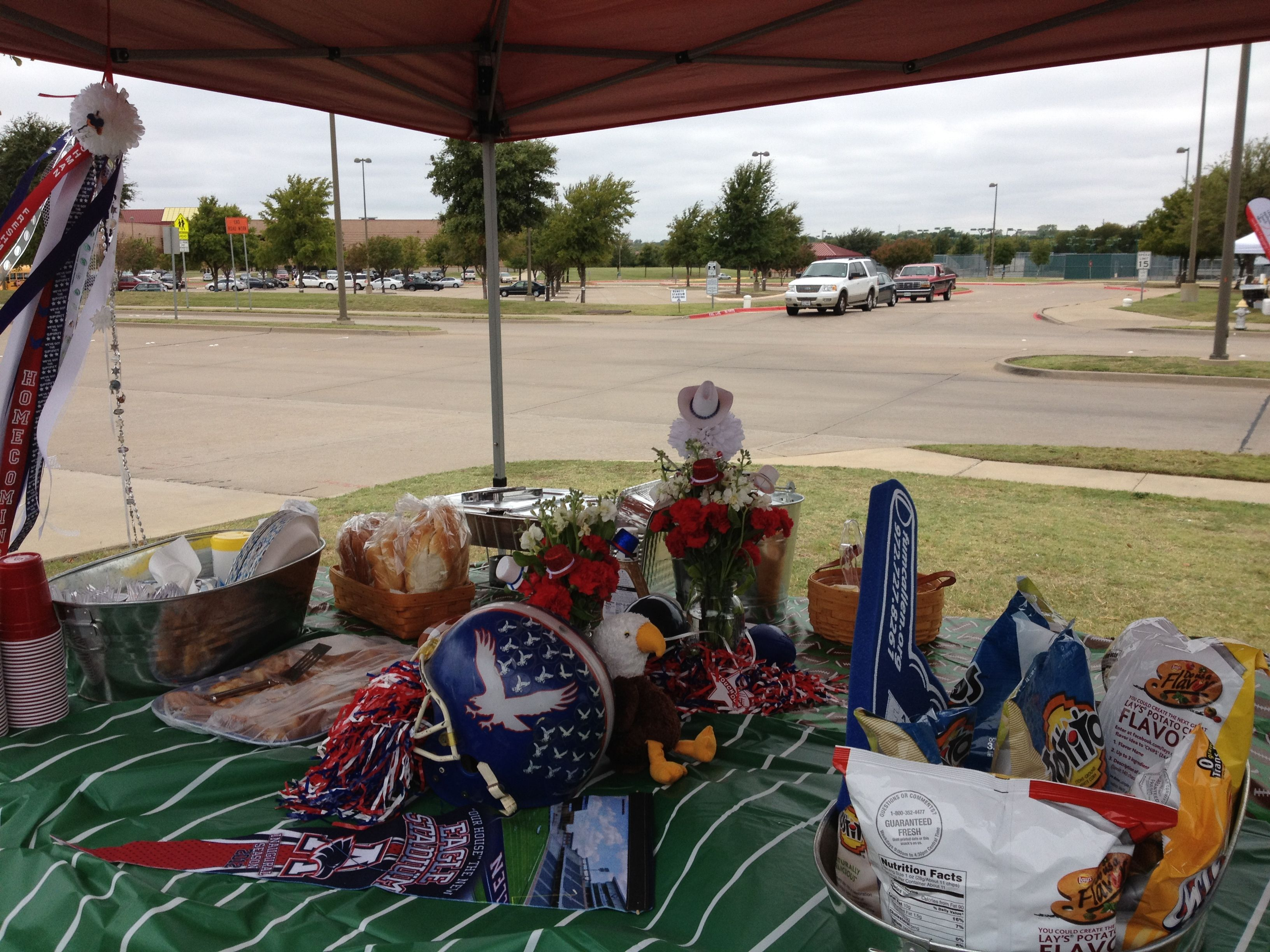 Homecoming tailgate decor for allen high school tailgating allen homecoming tailgate decor for allen high school arubaitofo Image collections