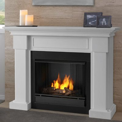 Real Flame Hillcrest Gel Fuel Fireplace Finish White Electric Fireplace Fireplace Heater Electric Fireplace