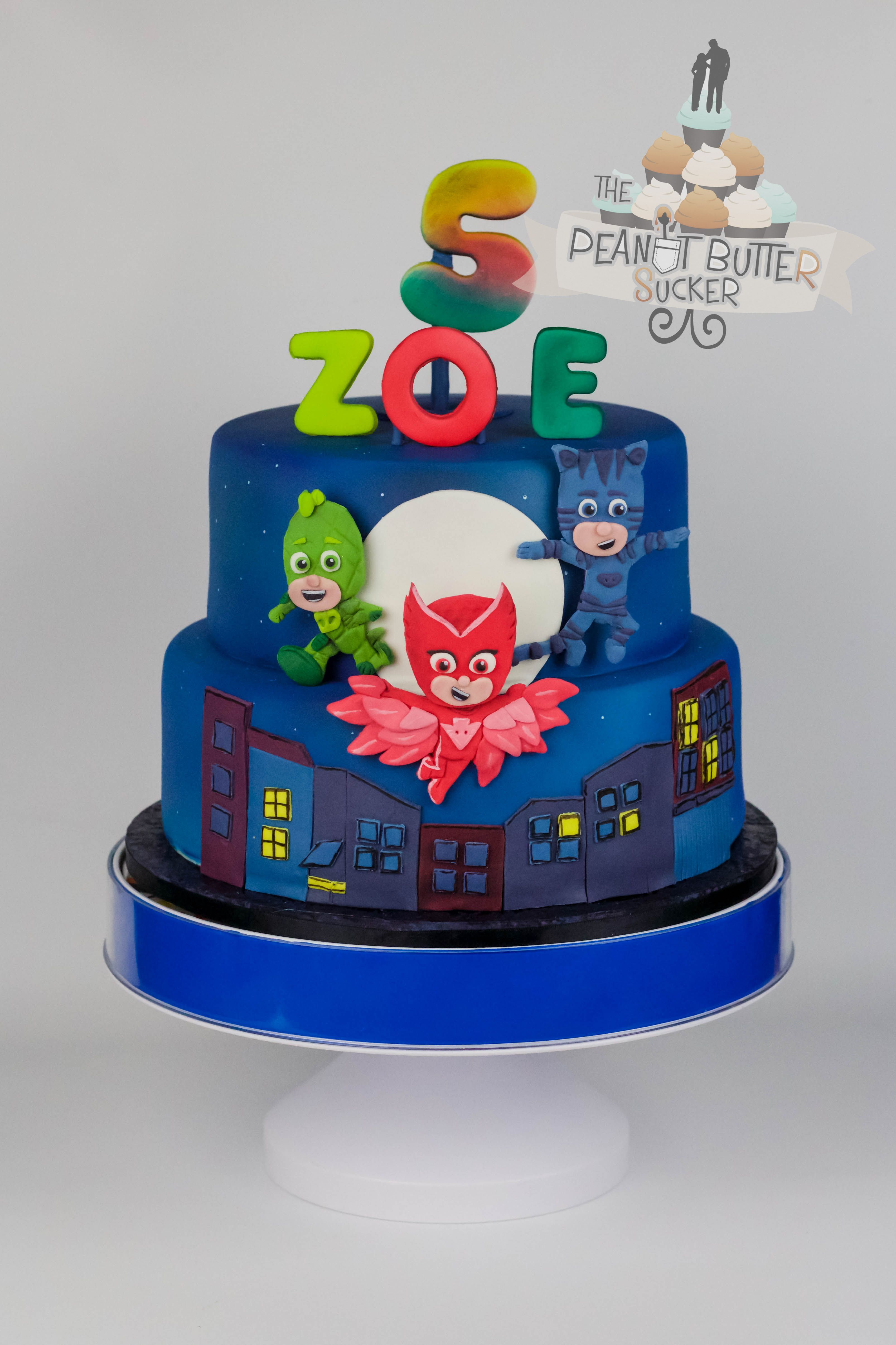 PJ Masks Cake | ZN\'s 5th | Pinterest | Cumple, Tortilla y Pijama
