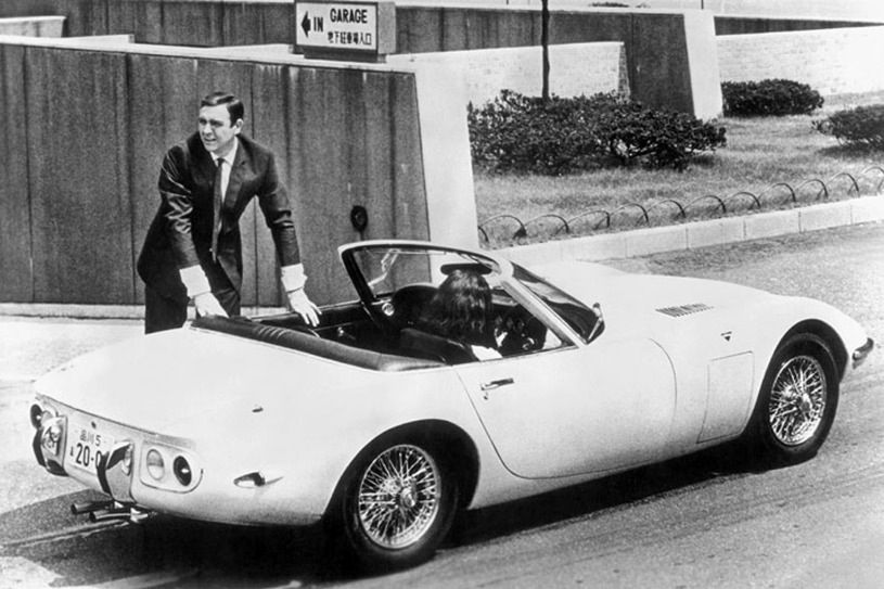 """1967 Toyota 2000GT Convertible (Only 2 built by Toyota for the Bond movie """"You Only Live Twice"""""""