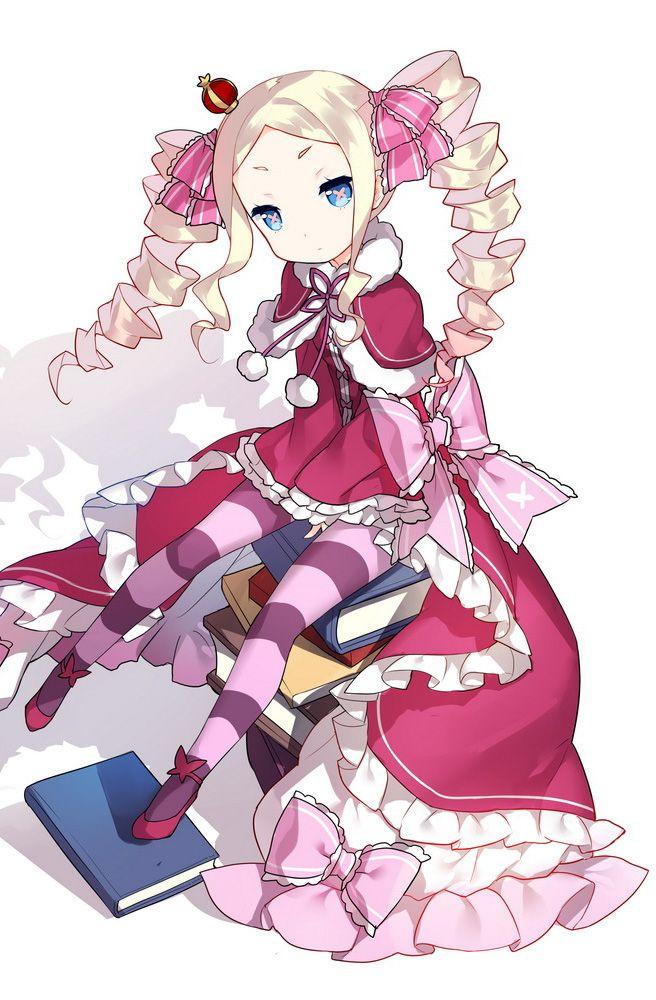 ReZero Beatrice マンガアニメ, かわいいアニメガール