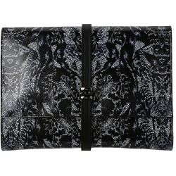 McQ - Bug Print Leather Document Holder  - Bags and Luggage