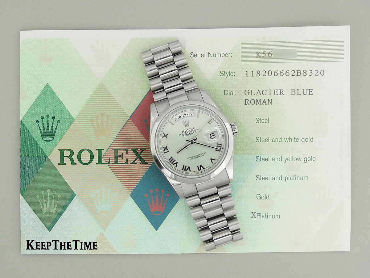 Rolex Platinum Day/Date Presidential