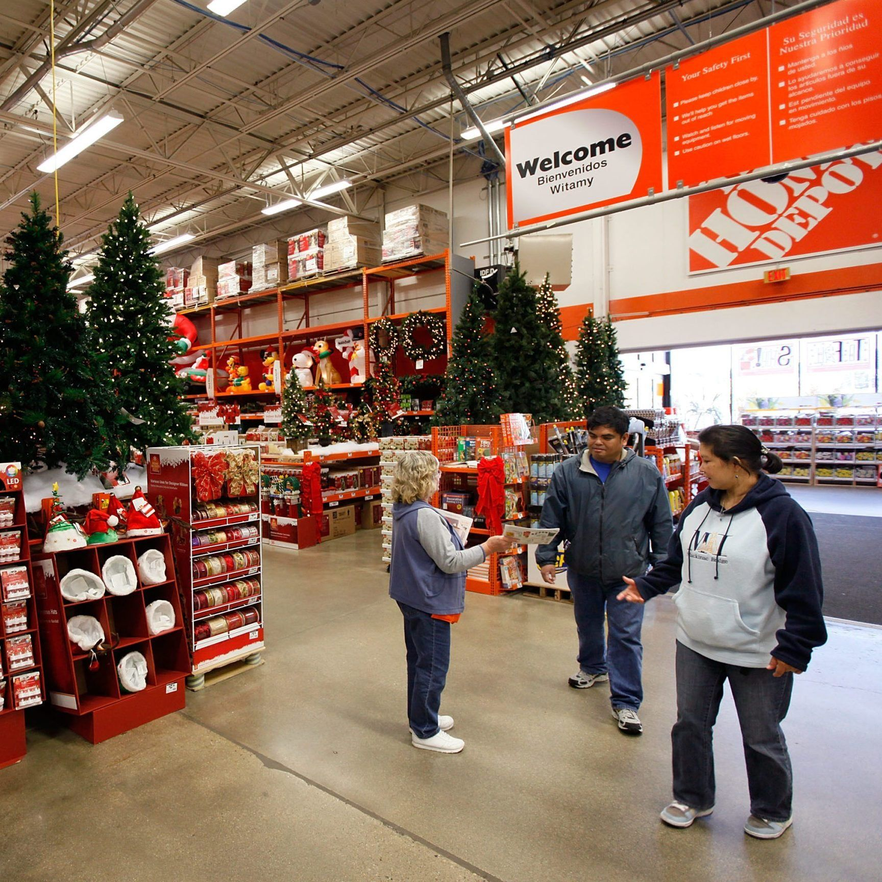 15 Festive Holiday Decorations You Wouldn T Think To Buy At Home Depot In 2020 Holiday Festival Home Depot Holiday Decor