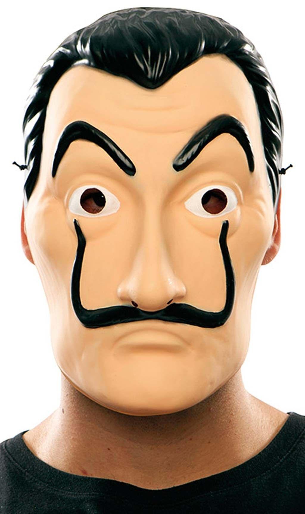 Máscara De Ladrón De La Casa De Papel Las Casas De Papel Sobres De Papel Máscara De Ladrón