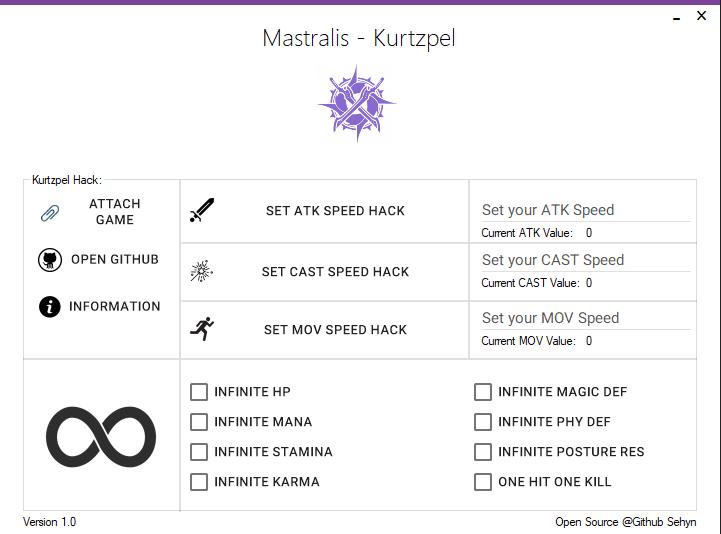Kurtzpel Atack Speed Hack