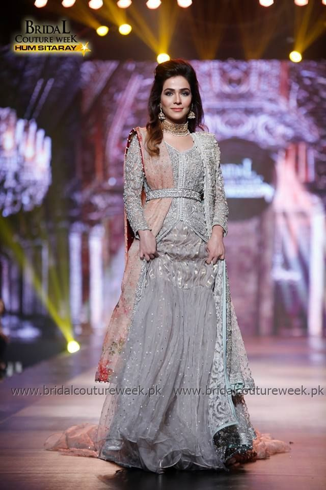 Stani Designer Walima Dresses 2017 In Grey Color