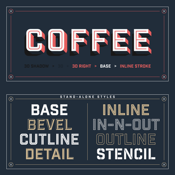 Industry Inc from Hold Fast Foundry | typography | Industrial font