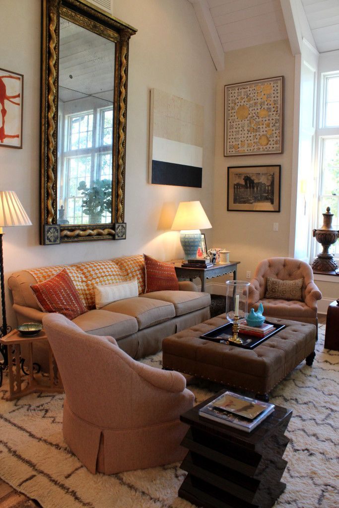 Southern Living Family Room Decor: Southern Living Idea House Family Hall Room