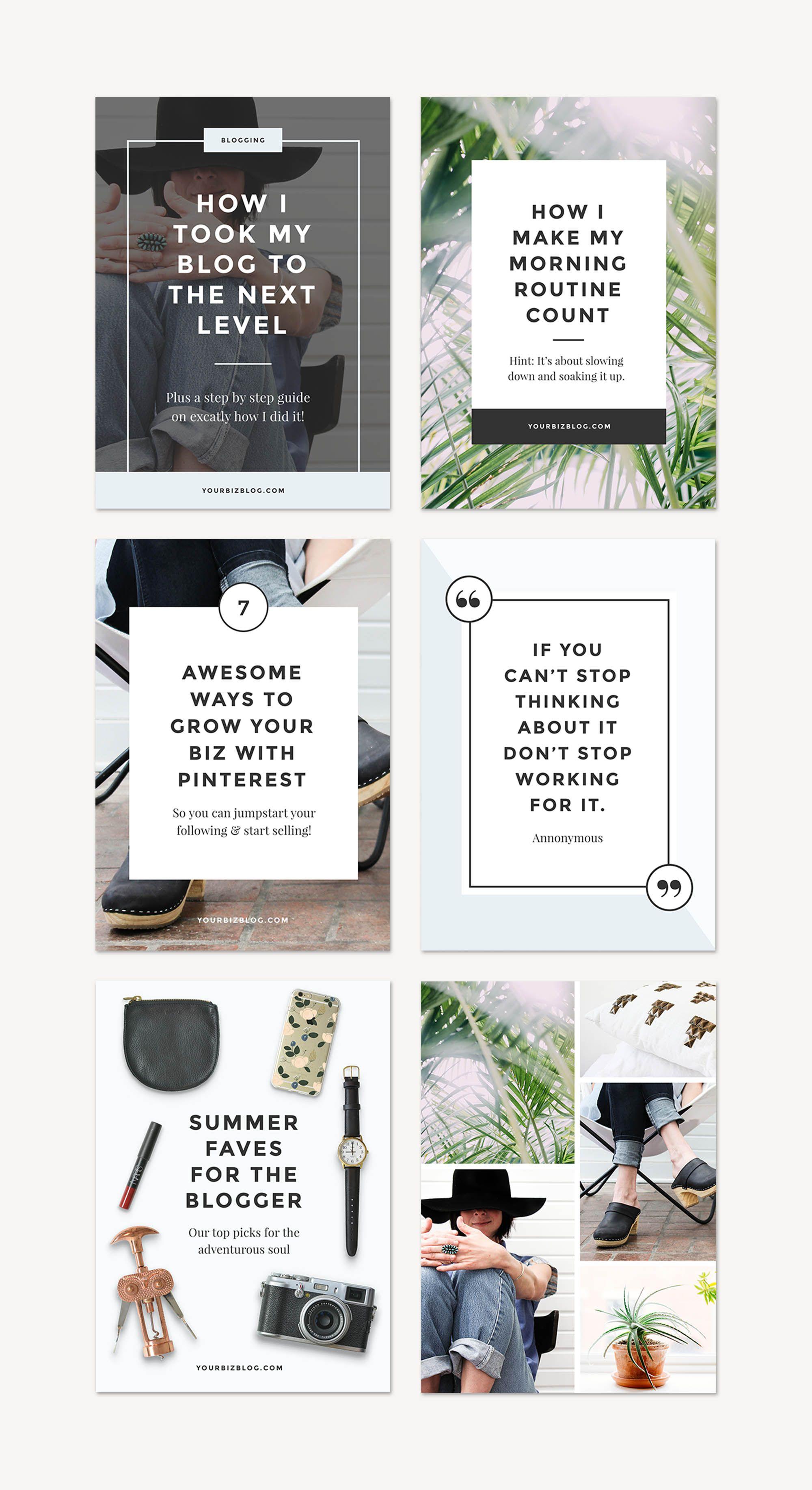 Monstera Blog Pack | Header, Blog header design and Template