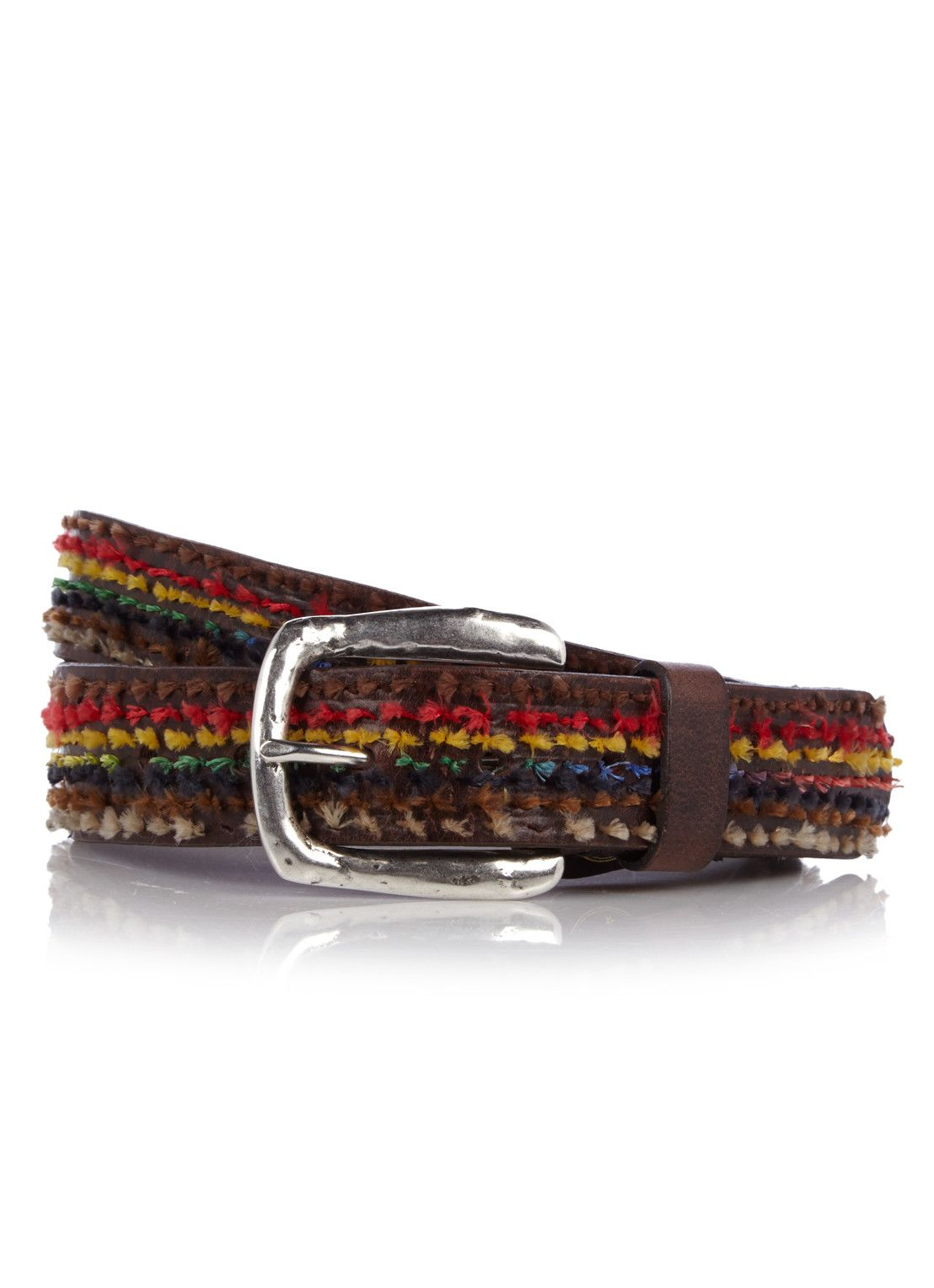 40a5be0b13d66 Profuomo belt. Belt made of vegetable tanned leather from Tuscany, Italy.  Finished with