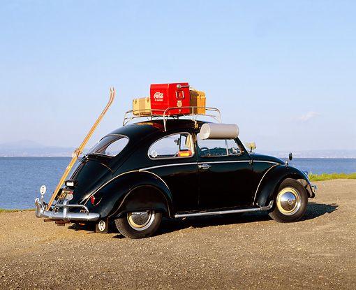 Vw Beetle With Nice Roof Rack Volkswagen Buggy Beetle