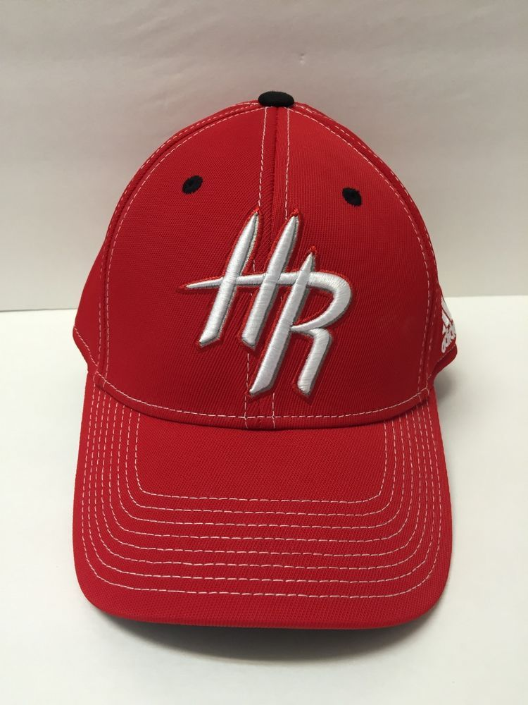 competitive price cc4d4 b1342 Houston Rockets Basketball Adidas NBA Red HR Hat Size L XL Climalite…