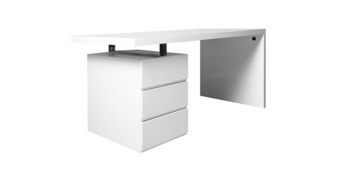 Lenox Office Desk Modern White Desk Office Furniture Modern Office Furniture Stores