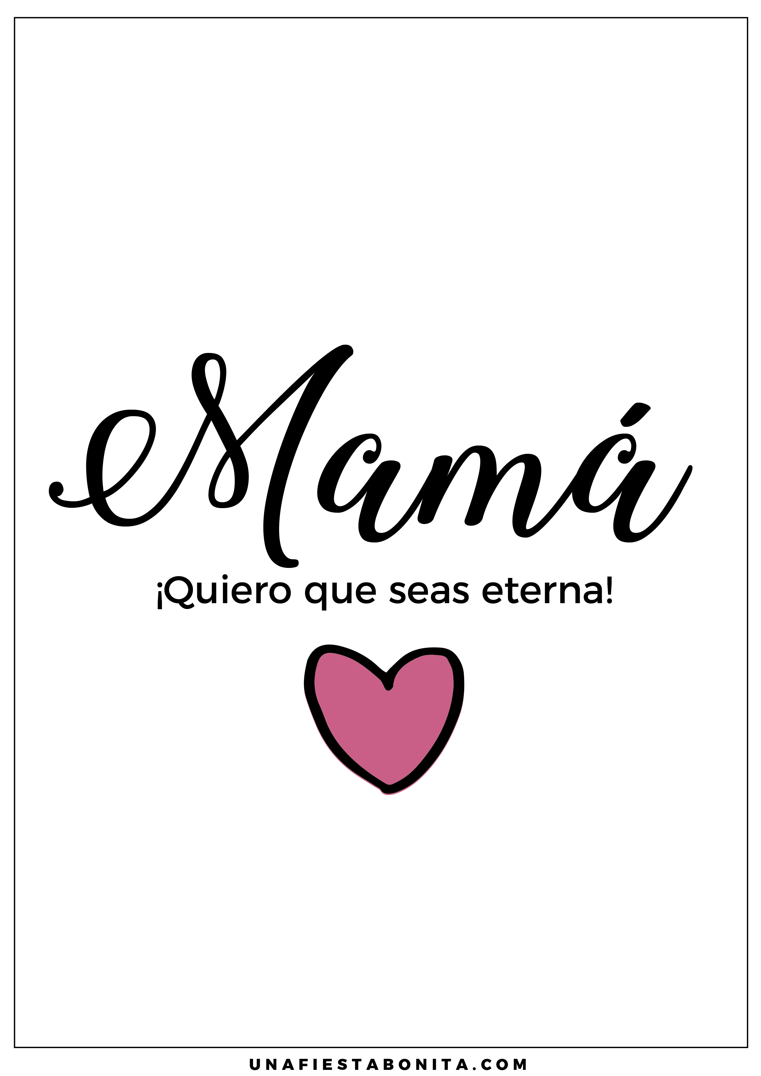 frases de la madre | Imprimibles | Pinterest | Frases de la madre ...