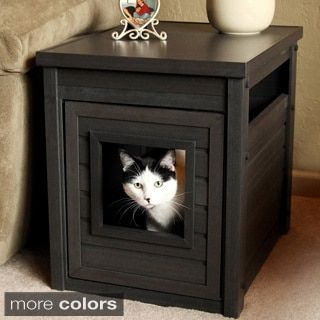 Shop for New Age Pet Hidden Litter Box Loo Enclosure End Table. Get free delivery at Overstock.com - Your Online Litter