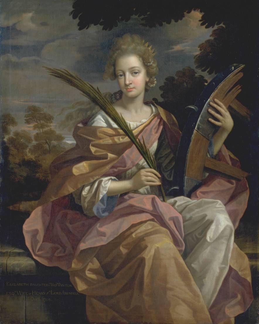 Benedetto Gennari 1633 1715 Elizabeth Panton Lady Arundell Of Wardour Saint