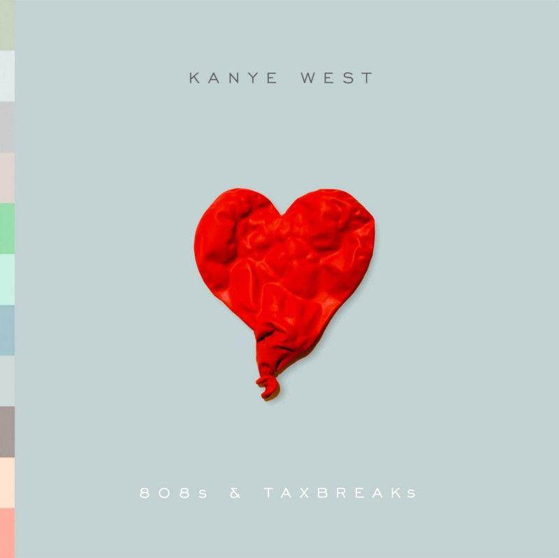 Heartless Kanye West Albums Kanye West Album Cover 808s Heartbreak