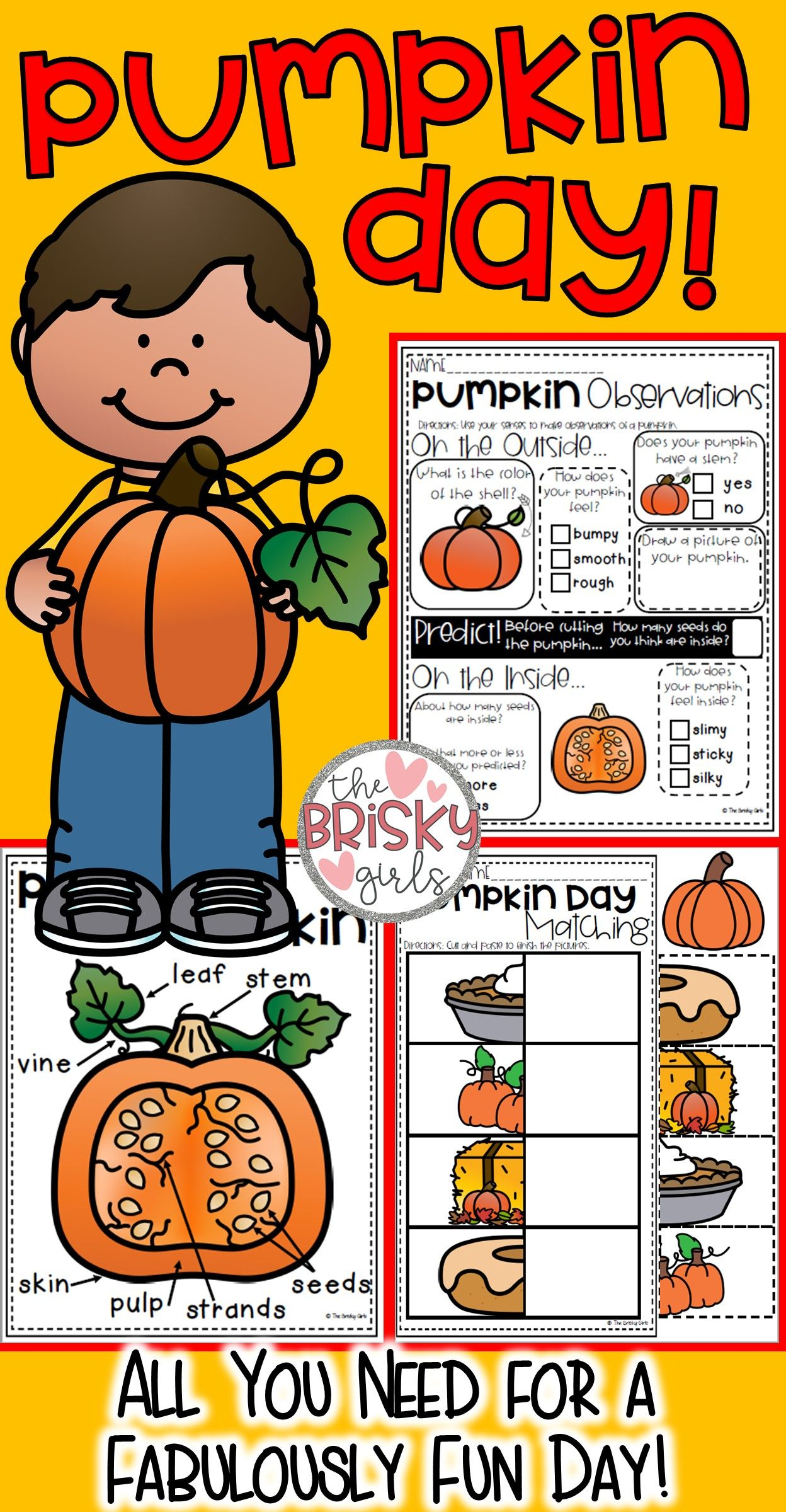 Pumpkin Day Activities Pumpkin Activities For