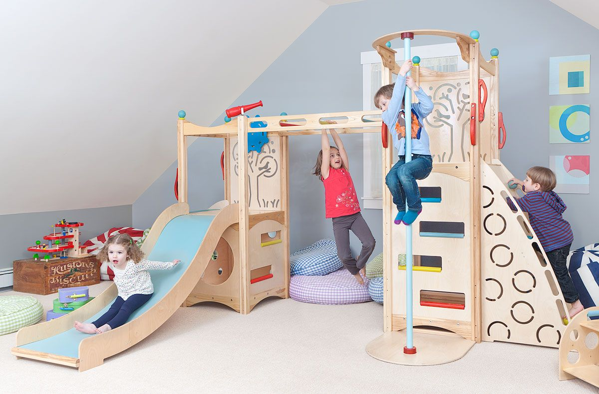 lofty ideas indoor jungle gym. Rhapsody 4 by CedarWorks  Indoor Play Systems kids loft plarooms 10 Climber