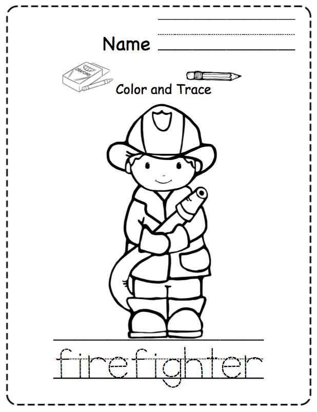 Toddler Community Helpers Preschool Printables Vrtic Printevi