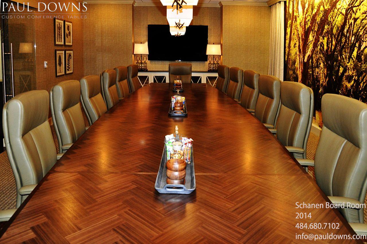 Schanen Boardroom Table Paul Downs Photos Room