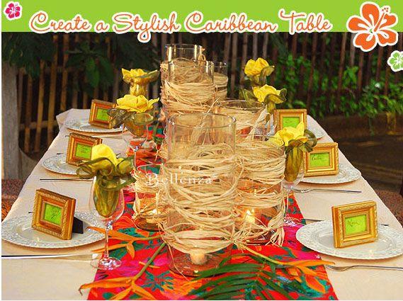 Caribbean Wedding Favor Ideas: Caribbean Themed Party Favors