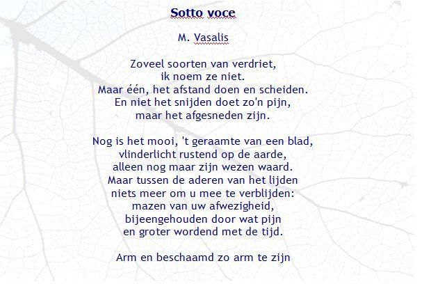 Sotto Voce Maria Vasalis Gedichten Woorden En Citaten