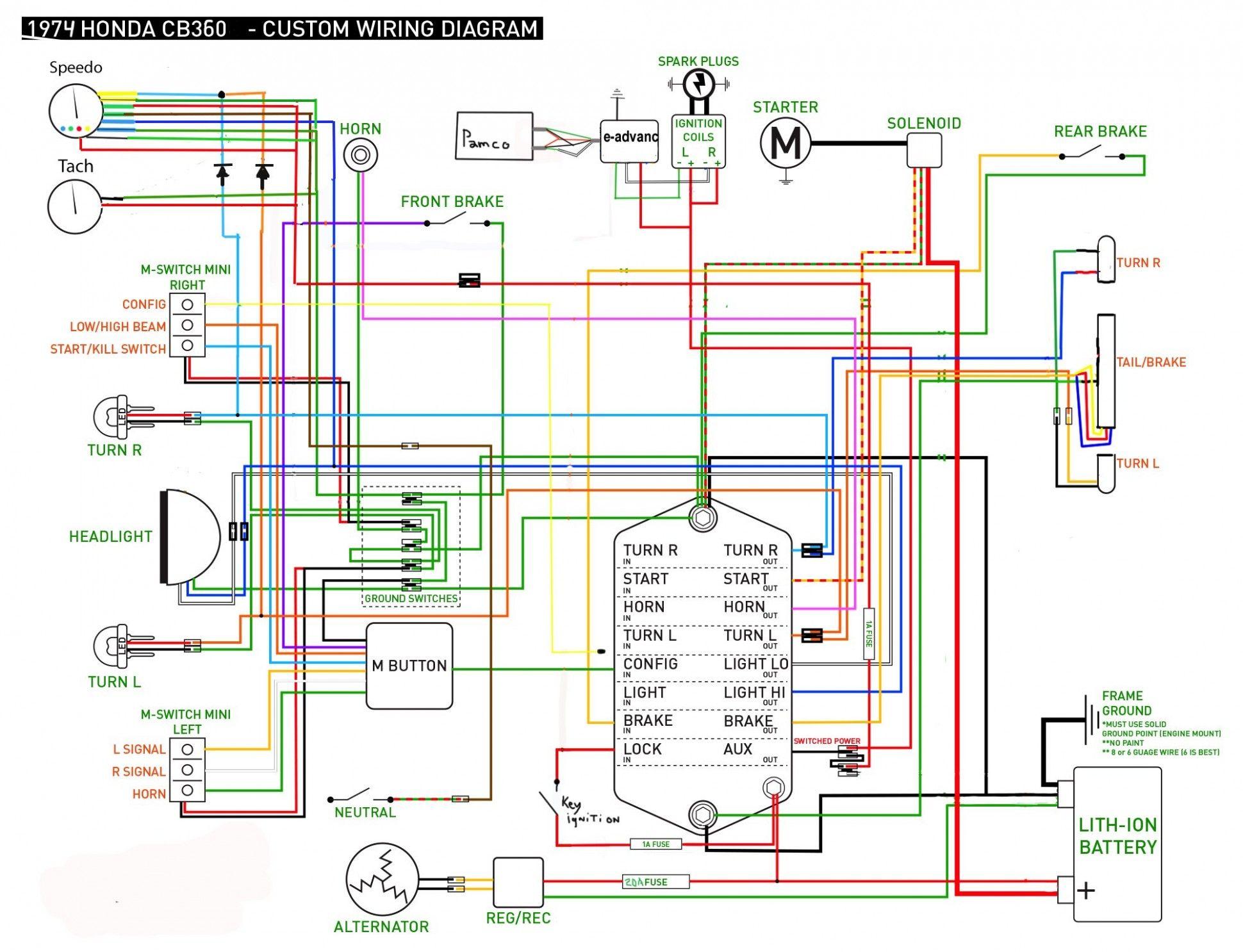 Engine Ground Diagram Honda