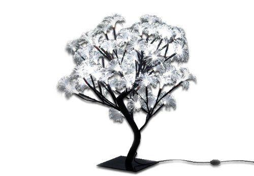 64er LED Lichterzweig Lichterbaum Blüten Lichterkette Weihnachten