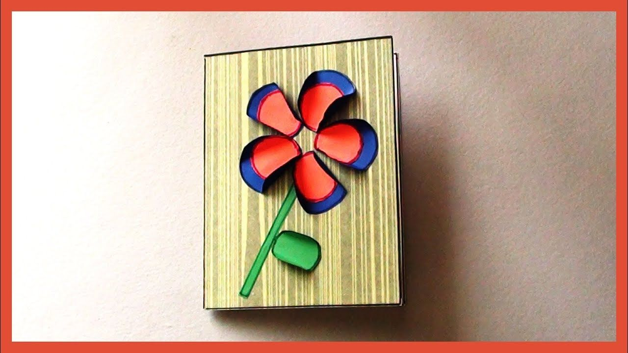 Super Easy Simple Greeting Paper Card For Kids Kids Paper Crafts Funny Birthday Cards Online Alyptdamsfinfo