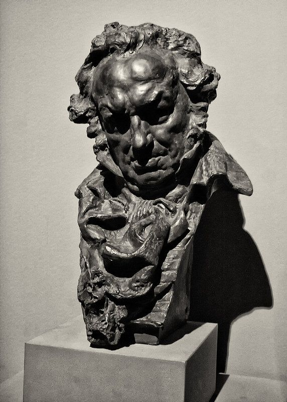 Mariano Benlliure Gil Busto De Goya 1902 Figurative Sculpture Art Bronze Sculpture