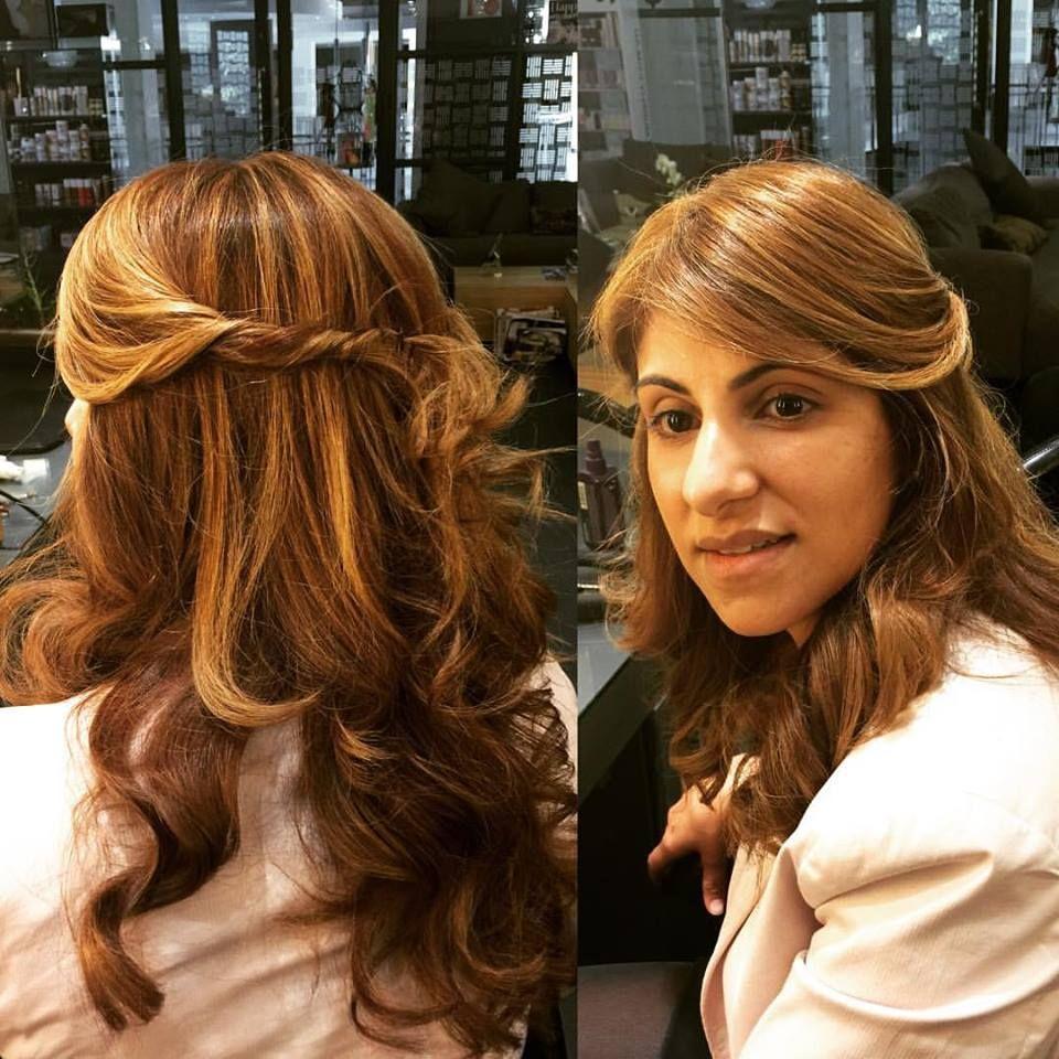 Gorgeous hair by Chantal at Midori.