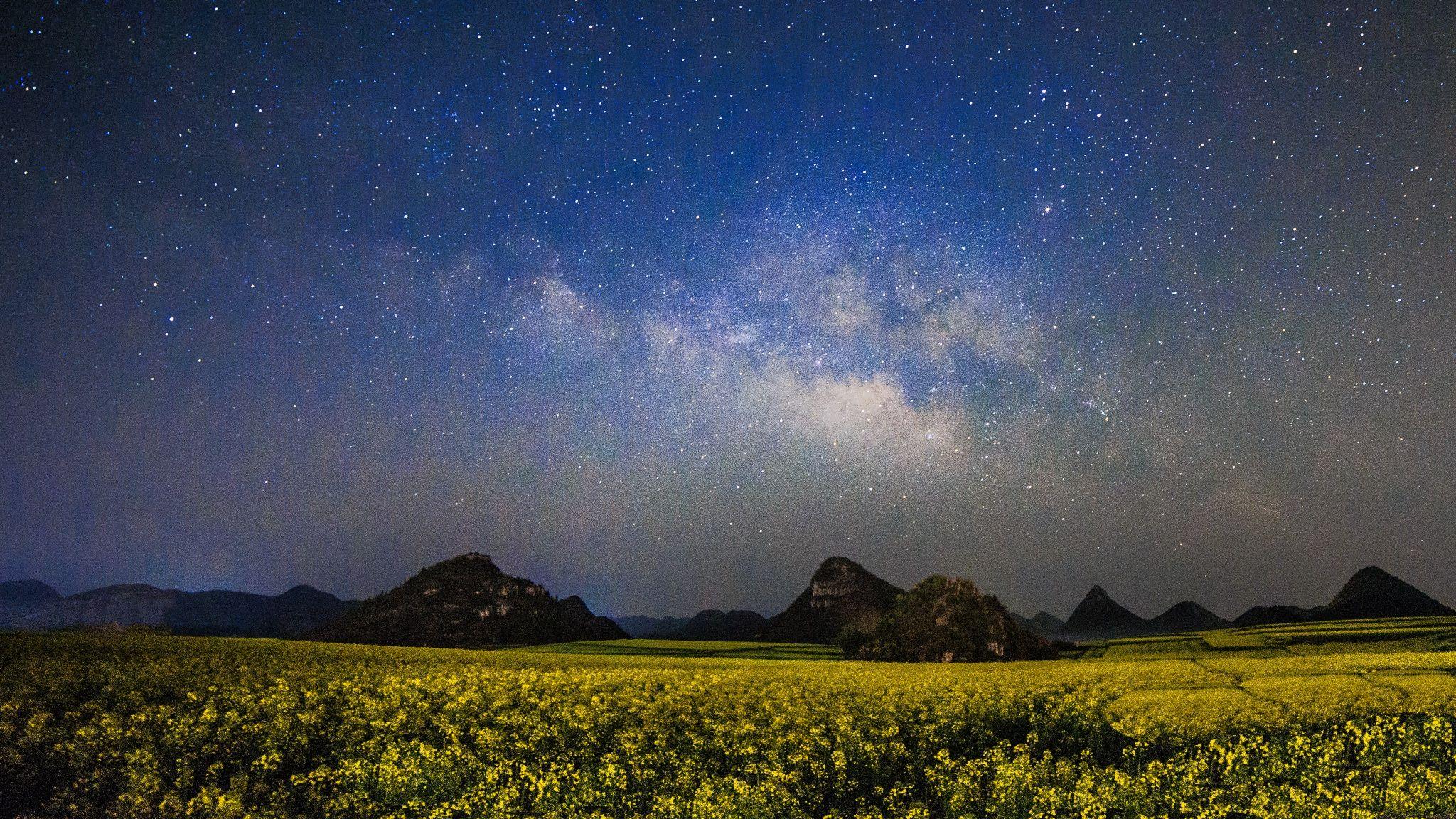 Luoping Galaxy by Rui Shu on 500px