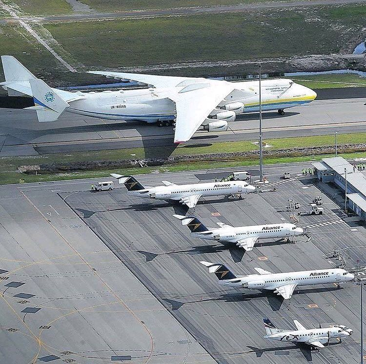 The Worlds Largest Aircraft Antonov An 225 Mriya With