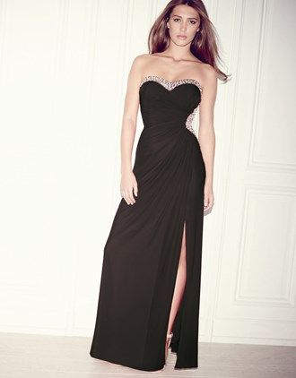 Lipsy V I P Strapless Embellished Maxi Dress #InLove #AddictedToLipsy