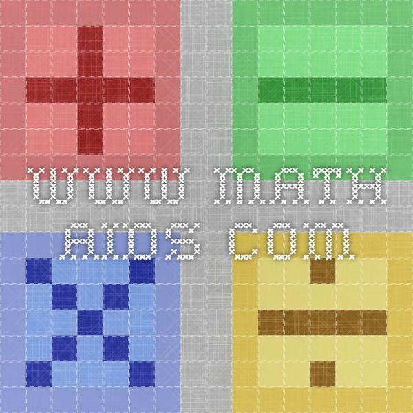 www.math-aids.com   Teaching   Pinterest   Math worksheets, Maths ...
