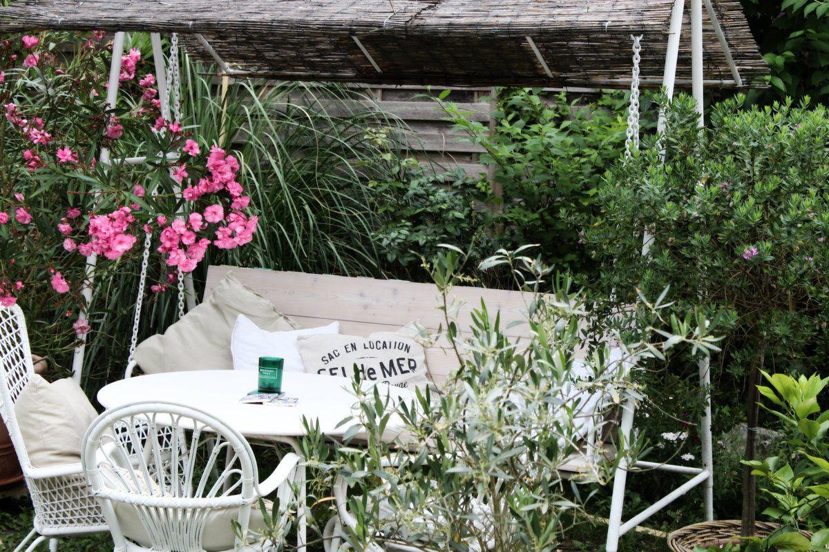 Hollywood im Garten.... Aus alten Sachen was schönes machen ...