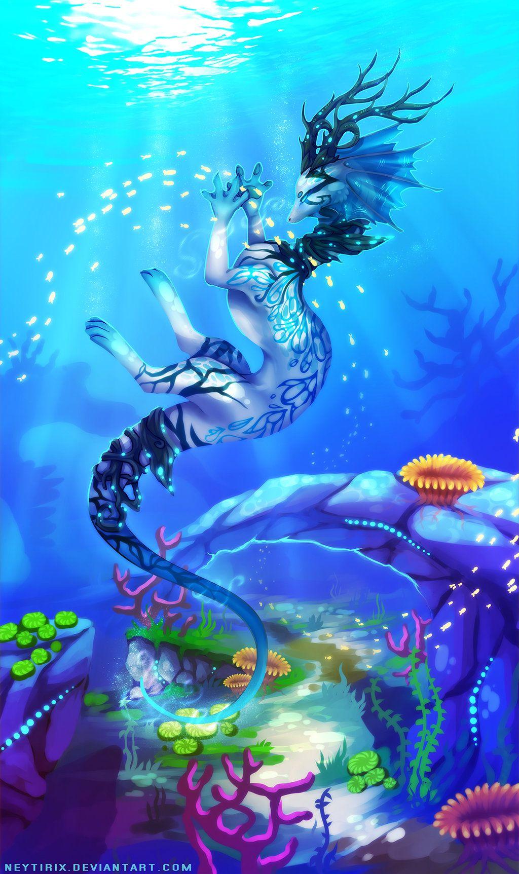 Enjoy WackyHabitat curated Sea Art SeaArt Just for Fun