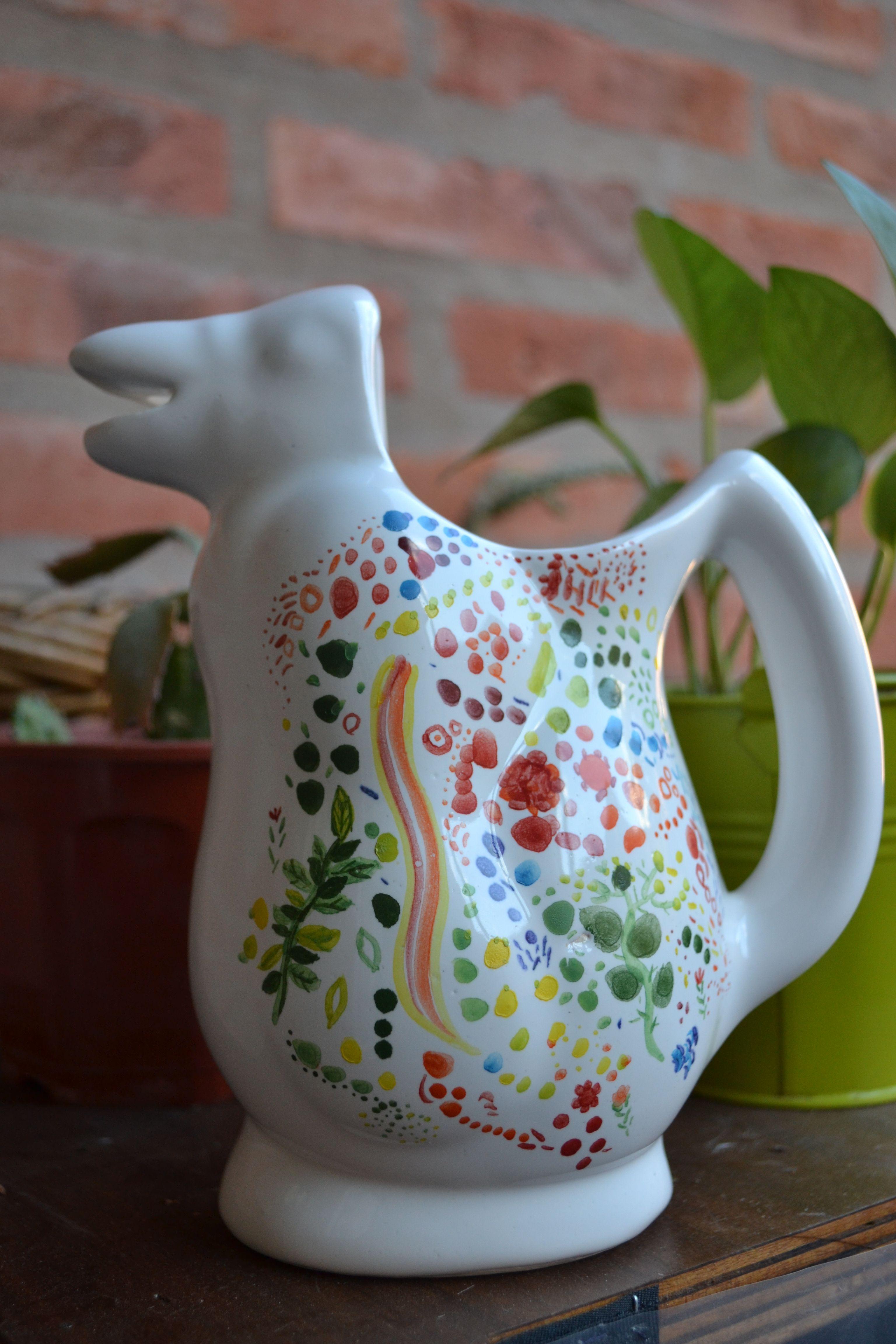 Pinguino pintado a mano ceramica pinterest pintar for Bizcochos de ceramica