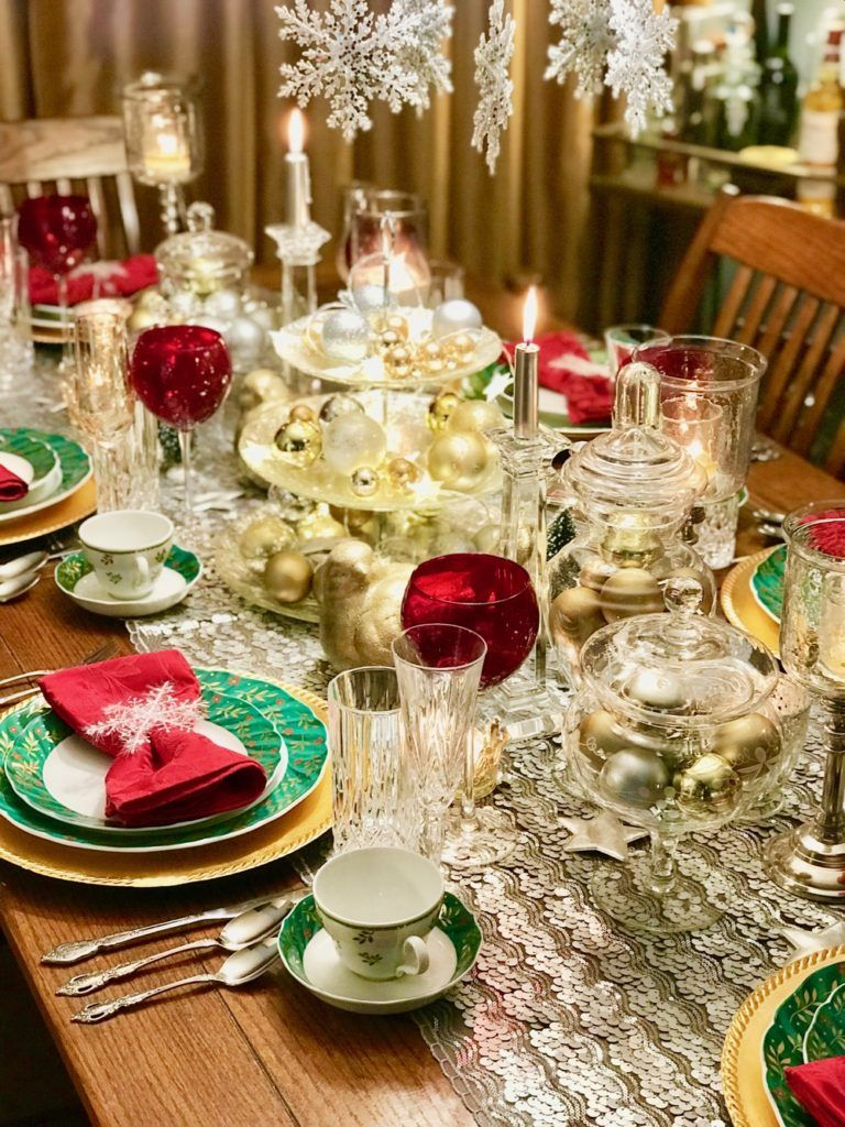 Christmas Table Decor How To Style Your Dining Room Table For Christmas By Lima Christmas Table Decorations Diy Christmas Table Christmas Table Decorations Diy