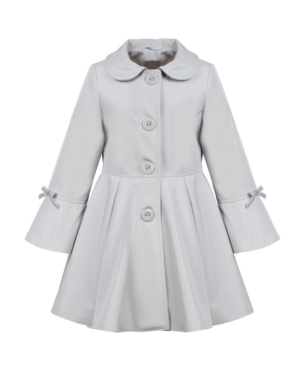 Rozlozysty Plaszcz Dziewczecy Coat Fashion Trench Coat