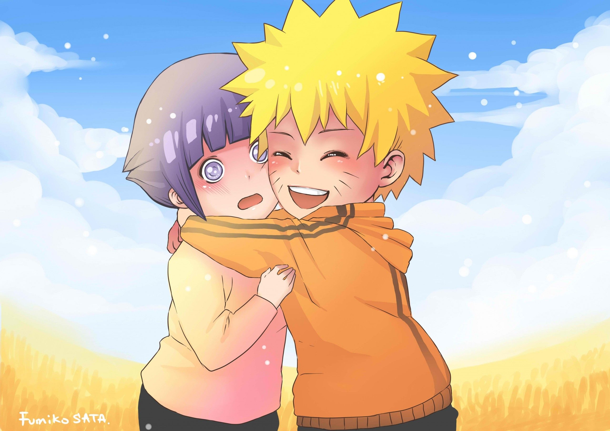 Pin On Naruto And Hinata