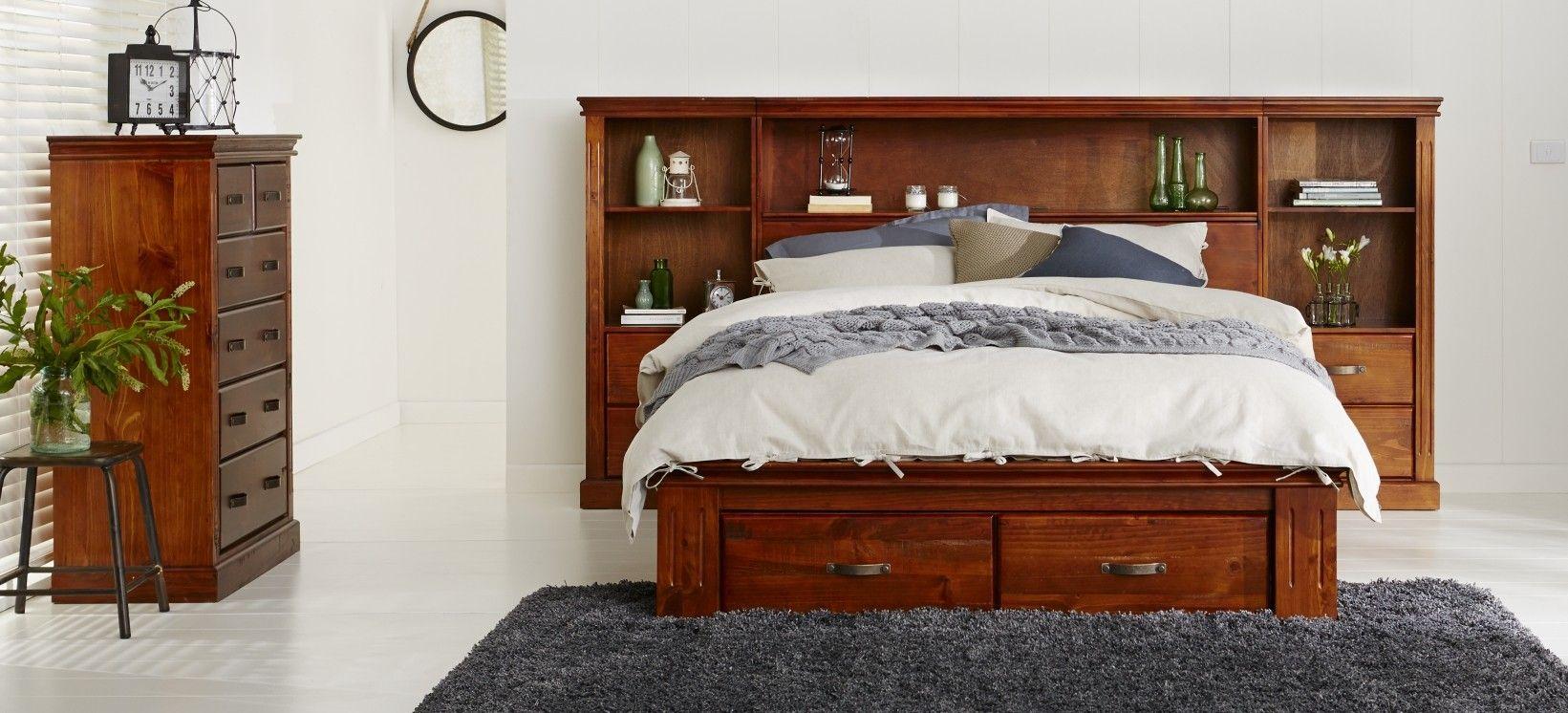 Texas+Cabin+Bedroom+Furniture++Classic+Wooden+Bedroom