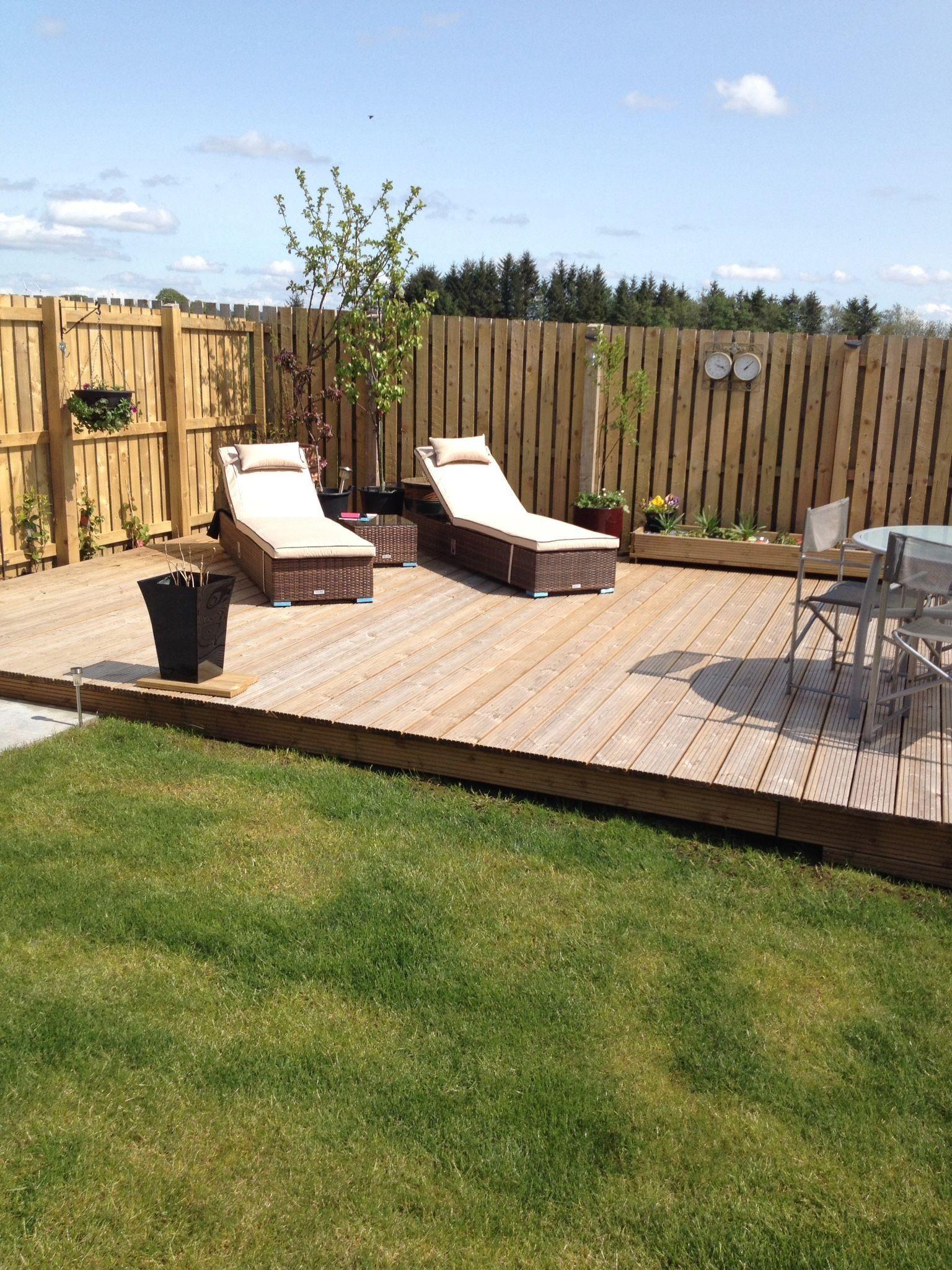 24 May 2016 My Garden Modern Design Modern Backyard Landscaping Deck Designs Backyard Backyard Patio Designs