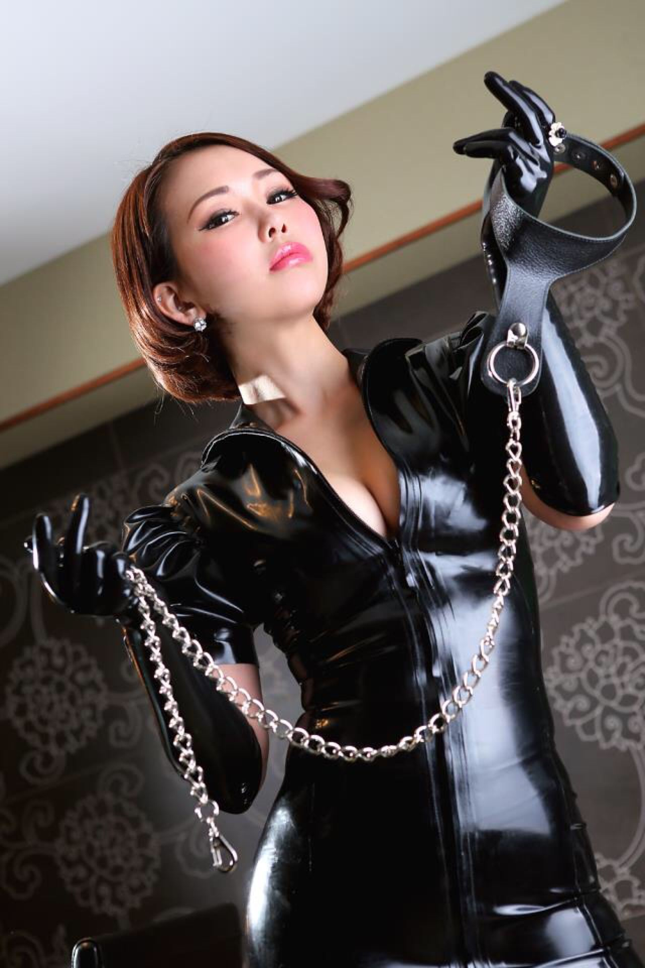 Pin on Latex & Leather